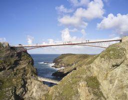 Tintagel Foot Bridge